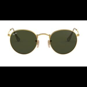 Round Metal Ray-bands Sunglasses